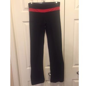 Lululemon Yoga Pants- Black Reversible